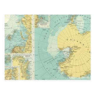 Artic, Antarctica Postcard