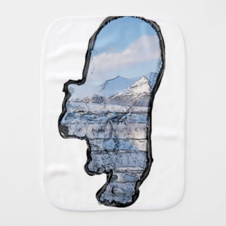 Artic Polar Bear Burp Cloth