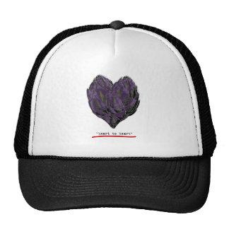 artichokes-heart to heart png trucker hats