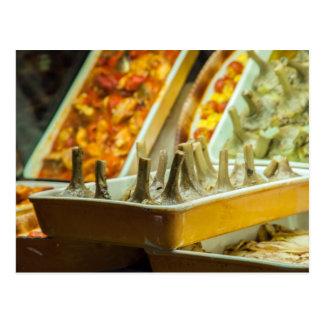 Artichokes, ready to eat postcard