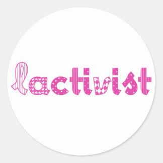 Articles /Breastfeeding pro-lactation advocacy Classic Round Sticker