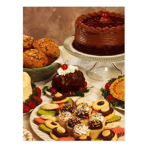 Articles de boulangerie carte postale