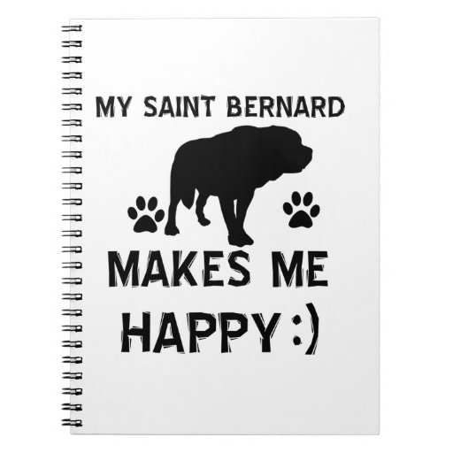 Articles de cadeau de St Bernard Carnet