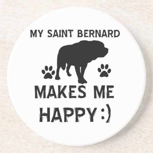 Articles de cadeau de St Bernard Dessous De Verres