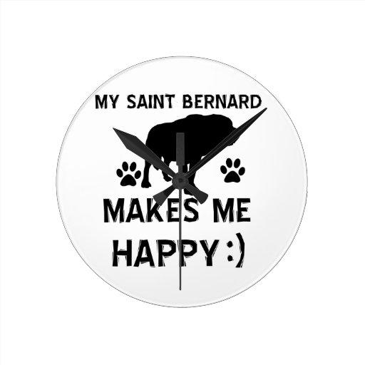 Articles de cadeau de St Bernard Pendules