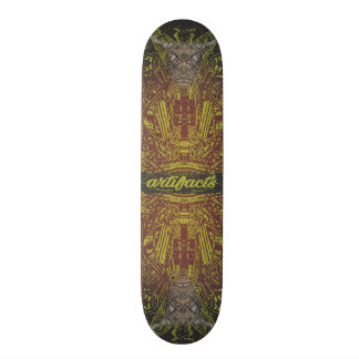 artifacts - deck deity concept 2 skate board deck