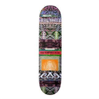 artifacts - demon without boarders vers 2 skateboard deck