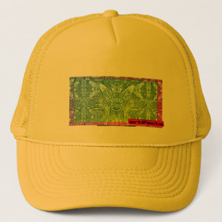 artifacts - let me be your flyfaced alien conept 3 trucker hat