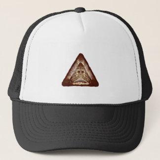 artifacts - orngish logo test v2 trucker hat
