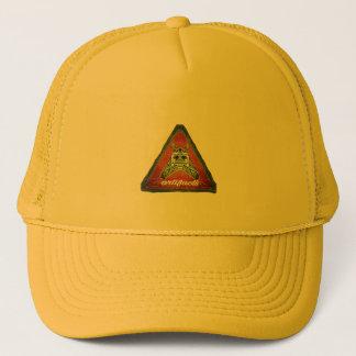 artifacts red label test trucker hat