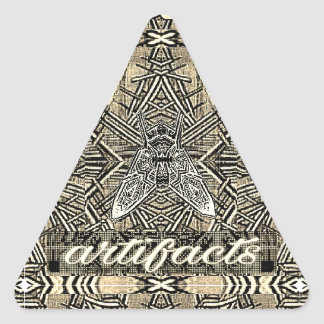 artifacts - triangular fly triangle sticker