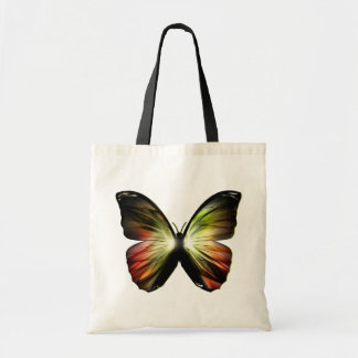Artificial Butterfly Budget Tote Bag