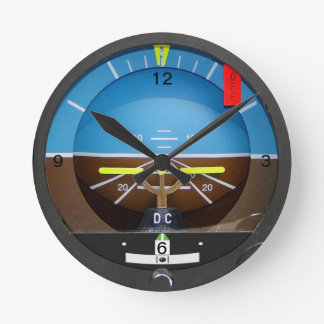 Artificial Horizon Clock