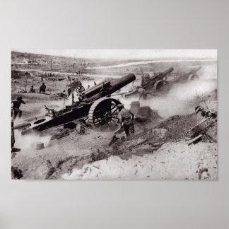 Artillery Barrage Poster