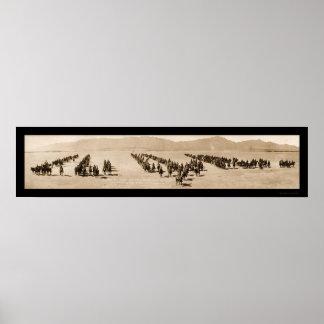 Artillery El Paso TX Huge Photo 1916 Poster