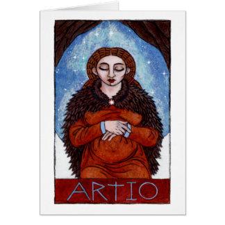 Artio Greeting Card