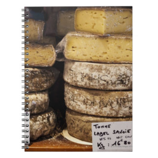 artisan regional french cheeses notebook