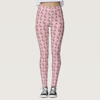 """Artisan_Wear - Yoga Pants in """"Monkey"""""""