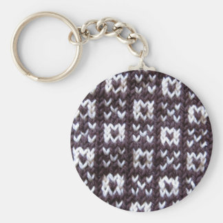 Artisanware Knit Kisses and Hugs Keychain