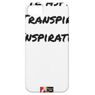 ARTIST ASPIRING TO PERSPIRE OF INSPIRATION CASE FOR THE iPhone 5