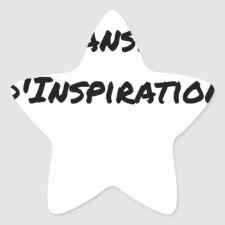 ARTIST ASPIRING TO PERSPIRE OF INSPIRATION STAR STICKER
