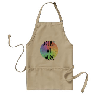 Artist At Work Apron Painting Creating Art Crafter