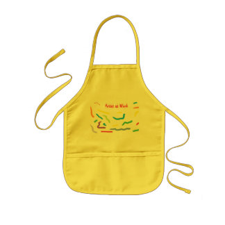 """Artist at Work"" Child's Apron"