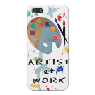 Artist At Work iPhone 5 Cover