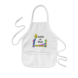 Artist at Work Kids Apron