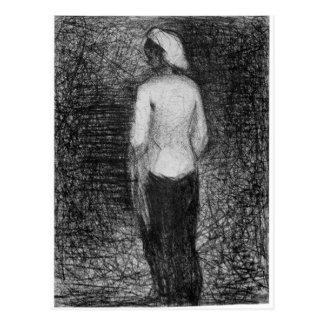 Artist by Georges Seurat Postcard