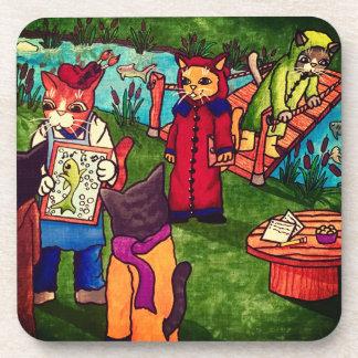 Artist Cat Coaster