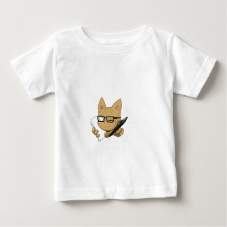 "Artist Cat ""Without Black Block"" Baby T-Shirt"