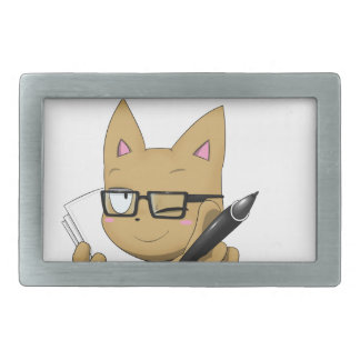 "Artist Cat ""Without Black Block"" Belt Buckles"