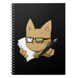 """Artist Cat """"Without Black Block"""" Notebook"""