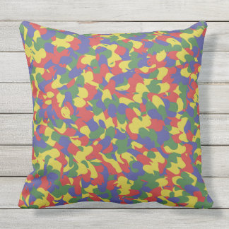 Artist Colors Outdoor Pillow