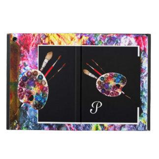 ARTIST COLOUR PALETTE MONOGRAM Black Cover For iPad Air