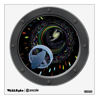 Artist concept Alcubierre Warp Drive Porthole Wall Decal