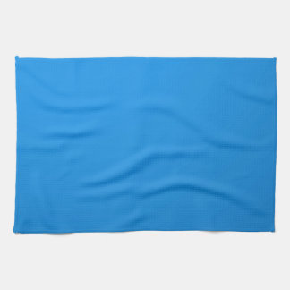 Artist Created Blue Color Shade :Add txt n image Kitchen Towel