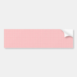Artist created CRYSTAL pink rose TEMPLATE Blank gi Bumper Sticker