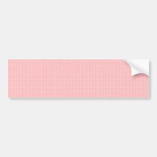 Artist created CRYSTAL pink rose TEMPLATE Blank gi Bumper Sticker