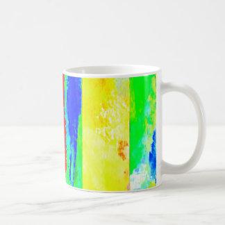 Artist-Designed Mug Cup of Many Colors