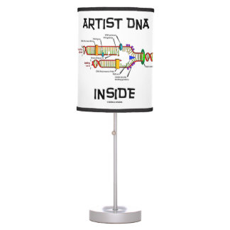 Artist DNA Inside Genes Genetics DNA Replication Table Lamp