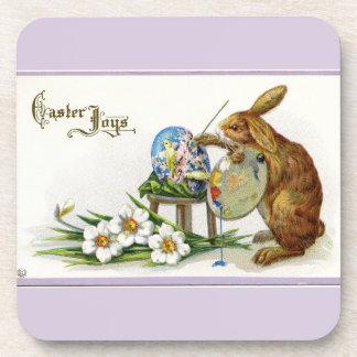 Artist Easter Bunny Lavender Coaster