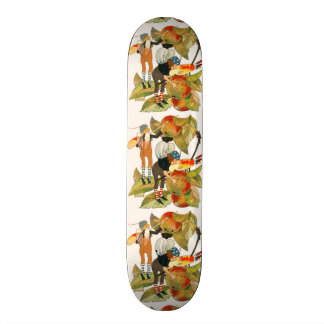 Artist Faeries Painting Fruit Skateboard Deck