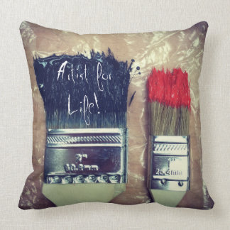 Artist for Life | Decorative Accent Throw Pillow