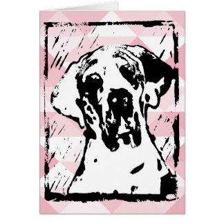 Artist Great Dane Print Cards