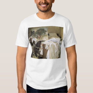 Artist in His Studio by Sargent, Vintage Victorian Tshirt