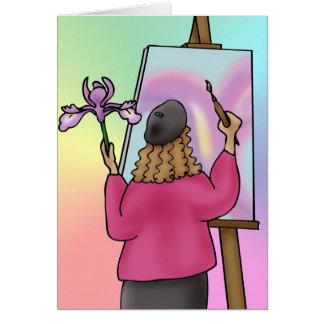 Artist inspiration card