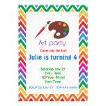Artist Palette Birthday Party
