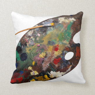 Artist Palette Pillow